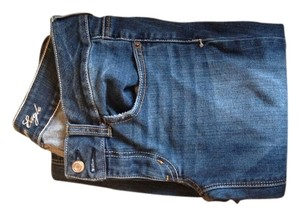 American Eagle Outfitters Everyday School Boot Cut Jeans-Dark Rinse