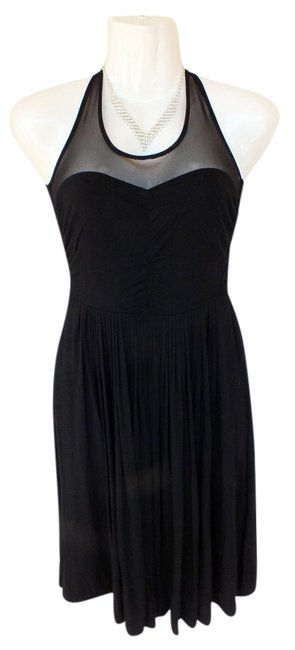 BB Dakota Mesh Formal Sweetheart Dress