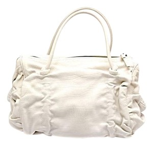 Bottega Veneta Satchel in Cream