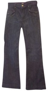 Citizens of Humanity Size 25 Trouser/Wide Leg Jeans-Light Wash