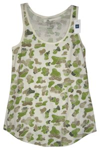 Gap Camouflage Racer-back Top Camoulage