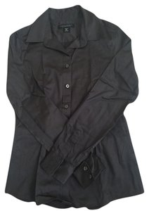 Banana Republic Button Down Shirt Dark gray