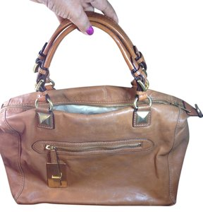 Michael Kors Satchel in RARE Camel
