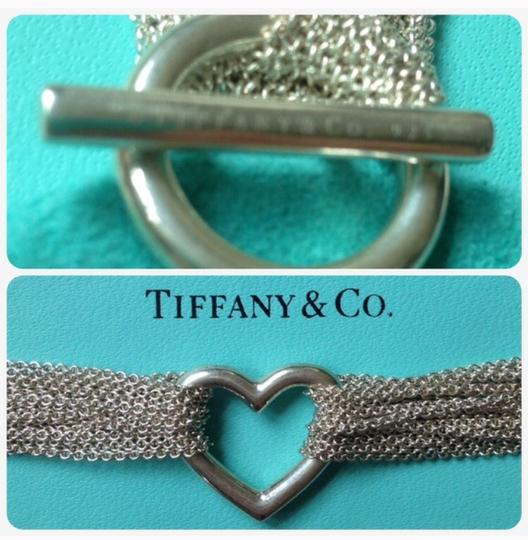 Tiffany & Co. Tiffany & Co chain bracelet heart silver 925 designer