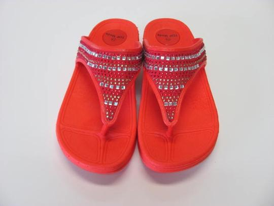 Other New Excellent Condition Size 7.50 light red Sandals