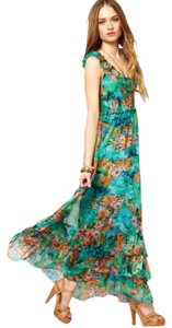 Green Maxi Dress by