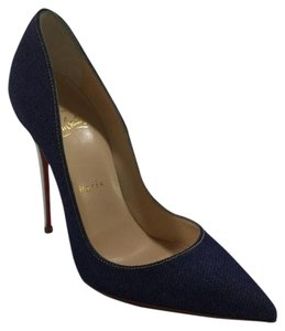 Christian Louboutin So Kate Denim Pumps