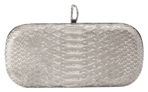 Marchesa Silver Clutch