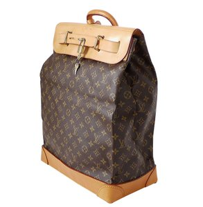 1b23473870c2 Louis Vuitton Vintage Limited Edition Rare Monogram Keepall Duffle Brown  Travel Bag