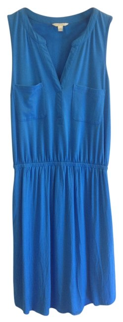 Other short dress Blue Flash Sale Dropped Waist Empire on Tradesy