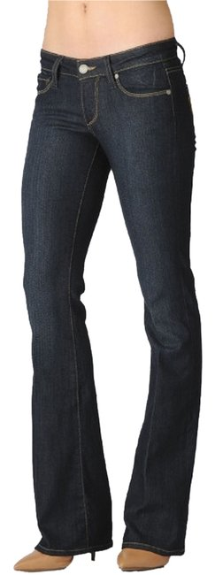 Paige Boot Cut Jeans-Dark Rinse
