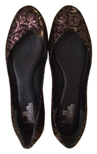 Belle by Sigerson Morrison Black and silver Flats