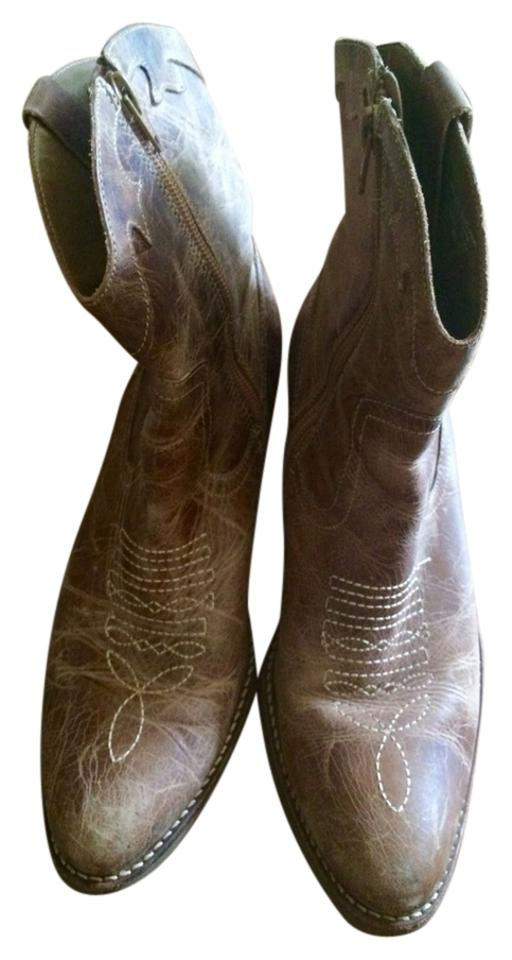 Mixit Tan Mix Ankle Ankle Mix Cowboy Boots/Booties 9111a6