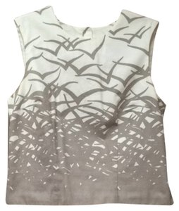 Cynthia Rowley Top White / Grey