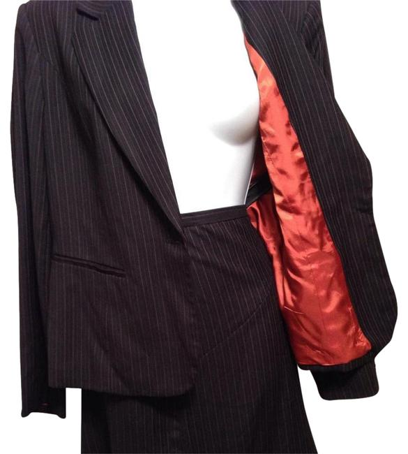 Style & Co Pinstriped Skirt Suit