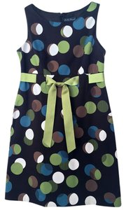Jessica Howard short dress Chocolate Brown/Apple Green Day Polka Dot on Tradesy
