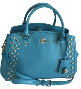 Coach Satchel in Cadet Blue
