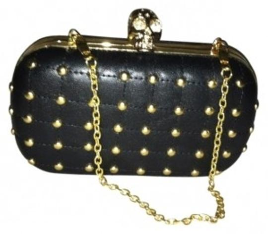 Preload https://item5.tradesy.com/images/justfab-after-glow-black-gold-clutch-35534-0-0.jpg?width=440&height=440