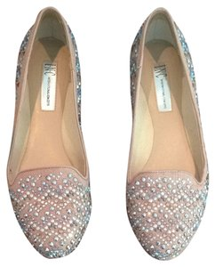 INC International Concepts Pinkish Nude Flats