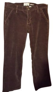 Old Navy Velvet Fall Jeans Short Boot Cut Pants brown