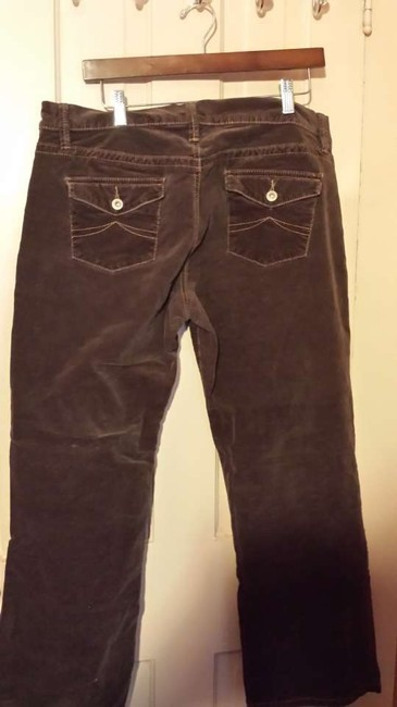 Old Navy Velvet Fall Short Boot Cut Pants brown