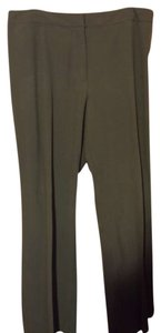 Other Dress Office Wear To Work Short Straight Pants olive/grey