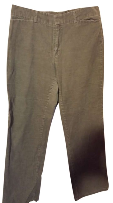 Dockers Casual Corduroy Fall Straight Pants olive