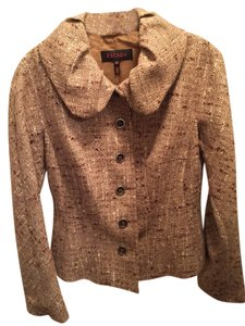 Escada Escada Brown Tweed Blazer