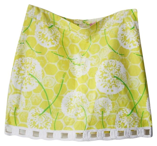 Lilly Pulitzer Mini Mini Skirt Yellow
