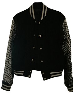 Skin Graft Black/Whiteb Jacket