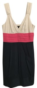 BCBGMAXAZRIA short dress Grey/Pink/Ivory Spring Summer on Tradesy