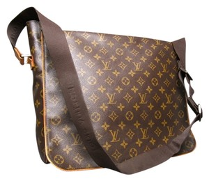 Louis Vuitton Monogram Canvas Abbesses Messenger Brown Messenger Bag