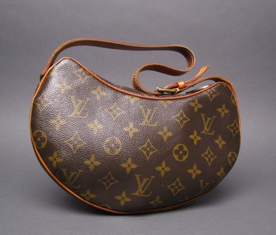Louis Vuitton Canvas Croissant Pm Shoulder Bag