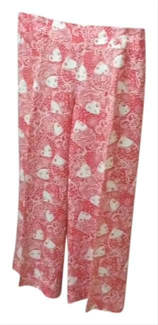 Preload https://item3.tradesy.com/images/lilly-pulitzer-reddish-orange-and-white-summer-collection-wide-leg-pants-size-8-m-29-30-3555532-0-0.jpg?width=400&height=650