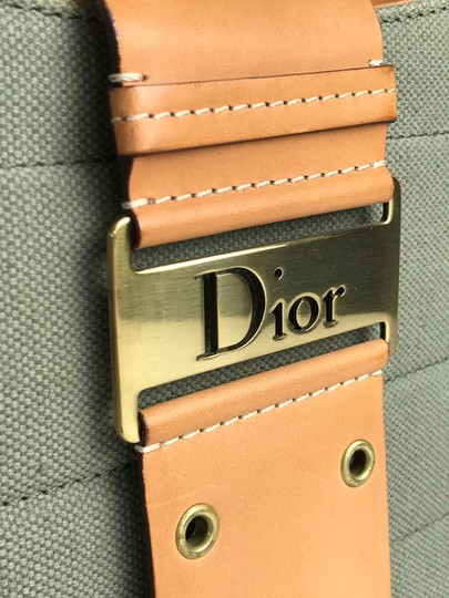 Dior Canvas Chic Shoulder Bag