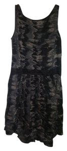 Mango short dress camo on Tradesy