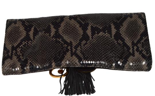 Alexis Hudson Gray/ Black Clutch