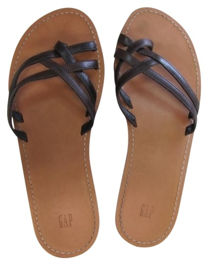 Gap Very Good Condition Size 8 BROWN Sandals