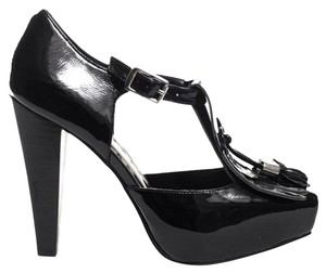 BCBGeneration Black Patent Pumps