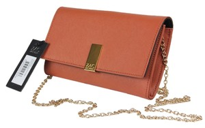 Zac Posen Wallet Chain Wallet Night Out Date Night orange Clutch