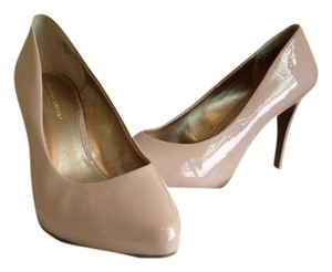 Christian Siriano for Payless Patent Leather Nude Pumps