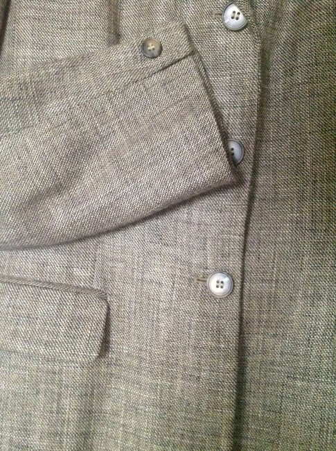 Jones New York Tan/black Tweed Blazer