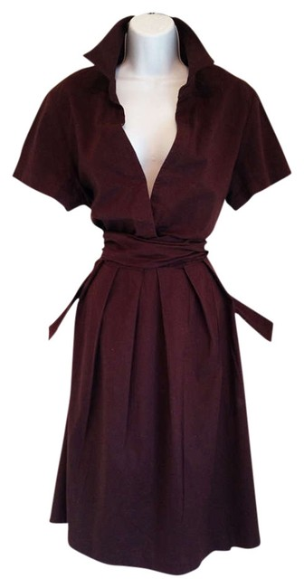 Preload https://img-static.tradesy.com/item/355721/chocolate-brown-vintage-inspired-a-line-knee-length-workoffice-dress-size-18-xl-plus-0x-0-0-650-650.jpg