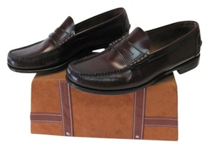 Florsheim Very Good Condition Size 12d Leather BROWN Flats