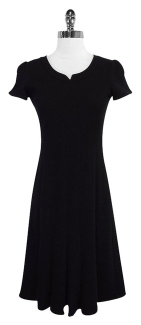Preload https://item5.tradesy.com/images/armani-collezioni-black-wool-blend-textured-mid-length-short-casual-dress-size-8-m-3557599-0-0.jpg?width=400&height=650