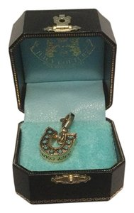 Juicy Couture Juicy Couture Gold Horse Shoe Charm In Original Box