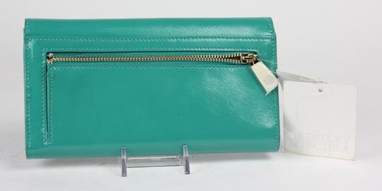 Badgley Mischka Patent Leather Date Night Late Night Prom Turquoise Clutch