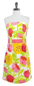 Lilly Pulitzer short dress Vanessa Floral Print Cotton on Tradesy