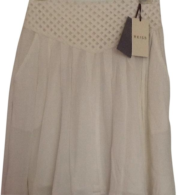 Reiss Skirt Off White