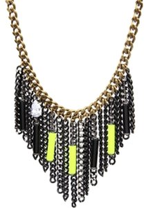 Juicy Couture Neon Bars And Chain Necklace